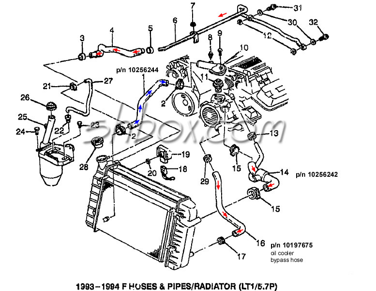 Chevy Tbi Vacuum Line Diagram on 1968 Firebird Battery Cable Routing