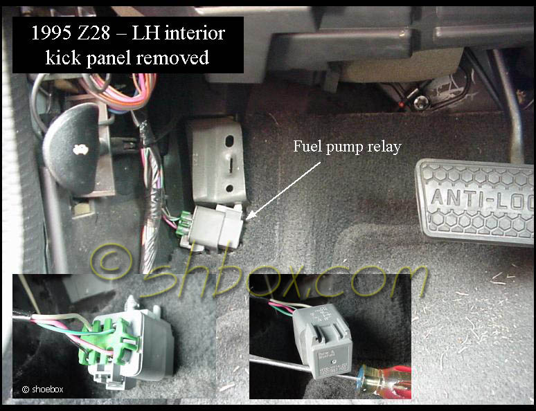 Fig Fuel Pump Relay Location 1999 00 Vehicles in addition 2006 Ford Explorer Fuel Pump Relay Location as well Ford F 150 Fuel Pump Relay Location likewise Volvo Fuel Pump Relay Location furthermore 1996 Chevy Camaro Fuel Pump Relay Location. on fuel pump relay location